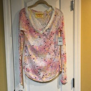 FREE PEOPLE NWT SIZE LARGE L/S TOP